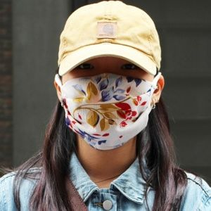 Floral FAce mask, MADE IN USA